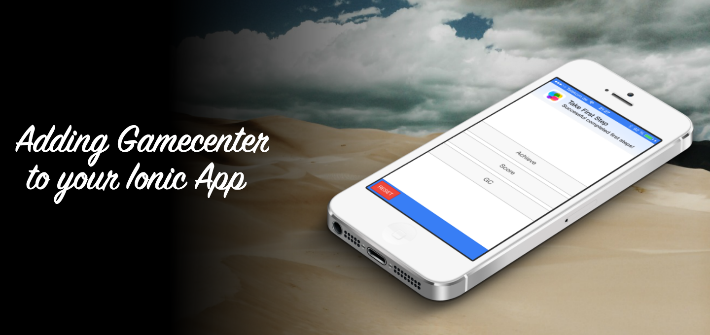 Adding Gamecenter Support to your Ionic App