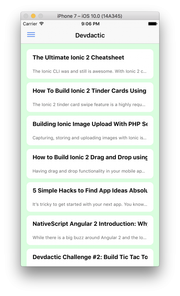ionic-2-rss-reader
