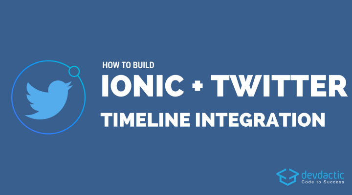 How to Build Ionic Twitter Integration with Timeline and Compose