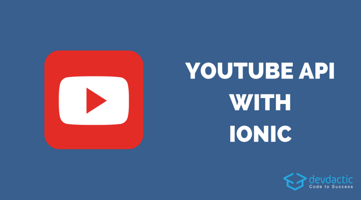 How to use the YouTube REST API with Ionic