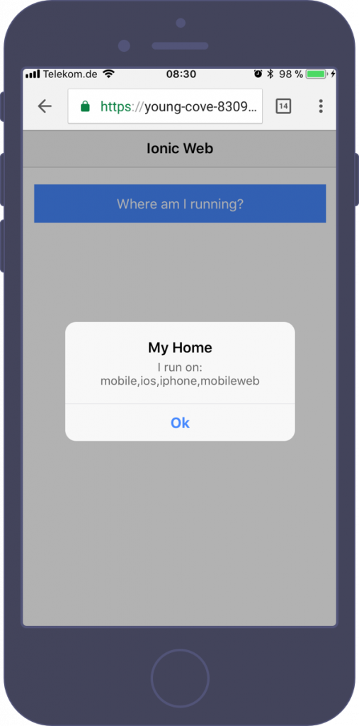 How to Deploy Ionic Apps as Website to Heroku