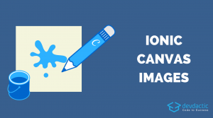 Ionic Canvas Drawing and Saving Images as Files