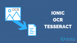 Building an Ionic OCR App with Tesseract